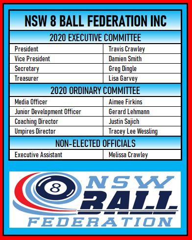 2020 Nsw8ball Committee